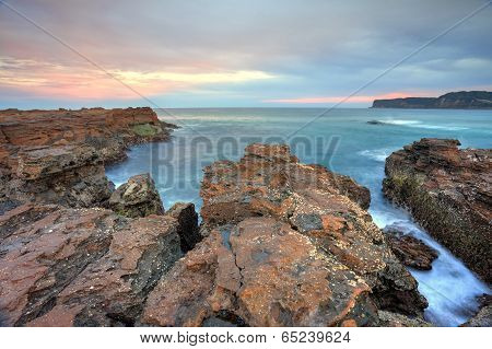 Craggy Rocks Of North Avoca Escarpment