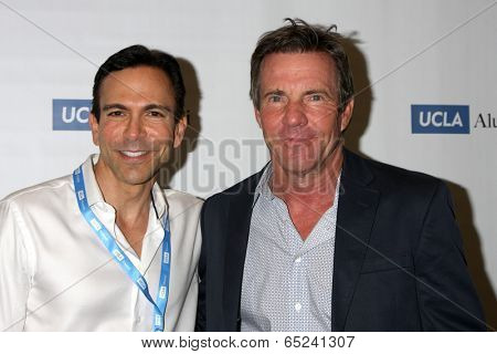 LOS ANGELES - MAY 16:  Bill Dorfman, Dennis Quaid at the UCLA's Spring Sing 2014 at Pauley Pavilion UCLA on May 16, 2014 in Westwood, CA