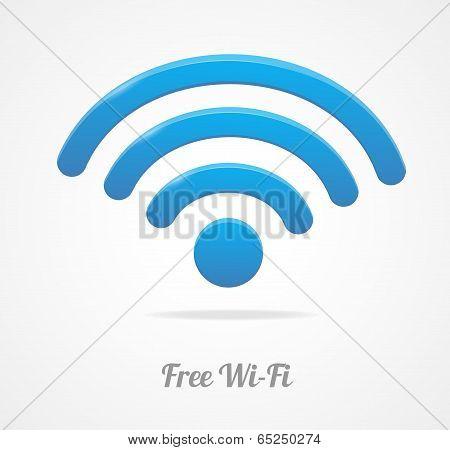 Wireless Network Symbol. wifi icon