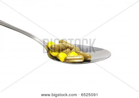 Spoon With Tablets