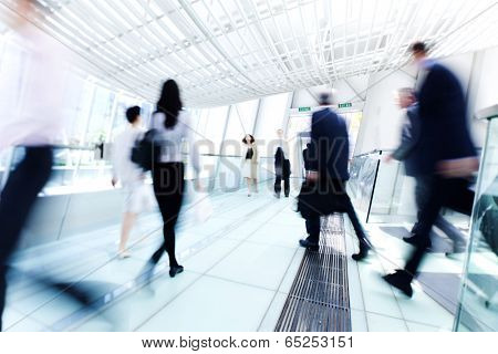 Business people in Asia. Hong Kong.