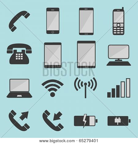List of telecommunication icons