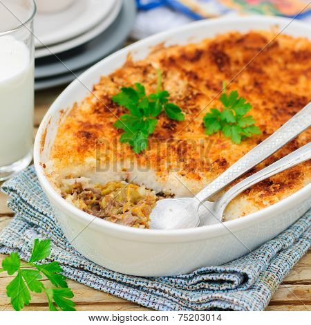 Hachis Parmentier, French Version Of Shepherd's Pie