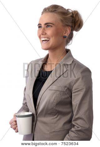 Beautiful Young Businesswoman