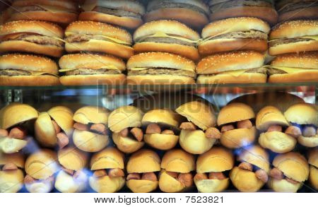 Fast Food showcase