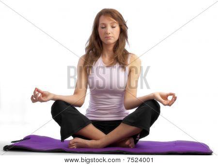 Attractive Yoga Woman