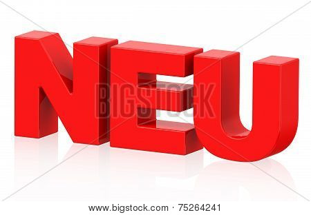 Neu (german Word)