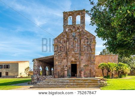 Church Nostra Signora Di Castro In Oschiri