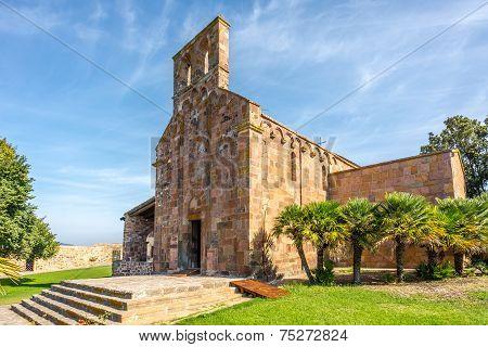 Church Nostra Signora Di Castro Near Oschiri