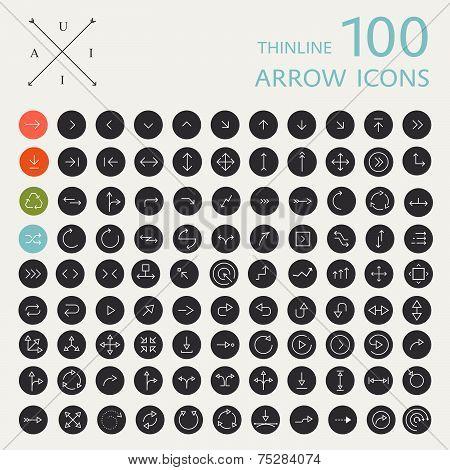100 Arrows