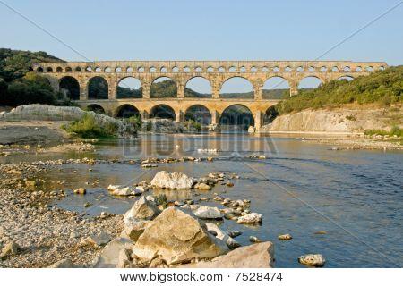 Reflection of Pont du Gard