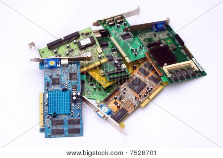 Old PCI cards
