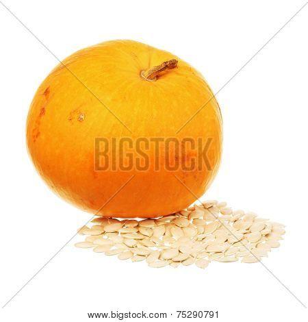 Pumpkin And Seeds