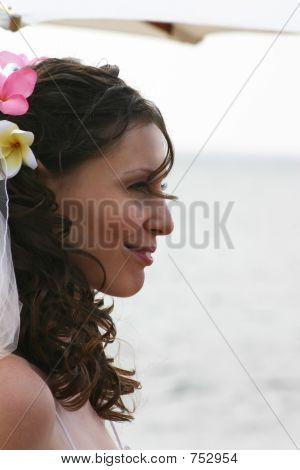 Bride on Beach Profile