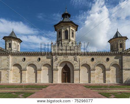 Front Chateau Cos D'estournel Saint-estephe