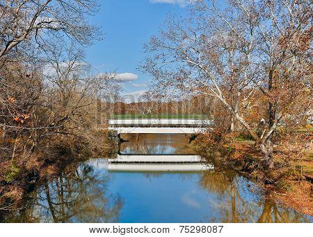 Westport, Indiana Covered Bridge