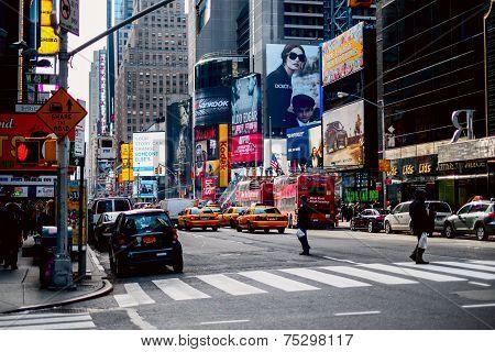 New York Streets.
