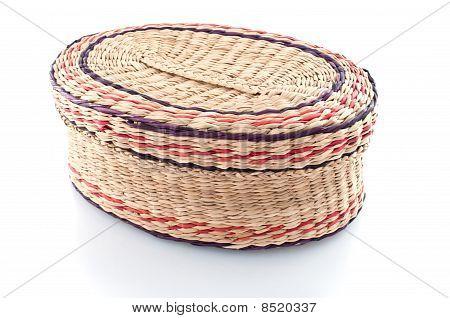 Nice Wicker Wooden  Basket