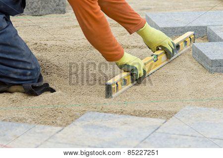 Paver Leveling Sand