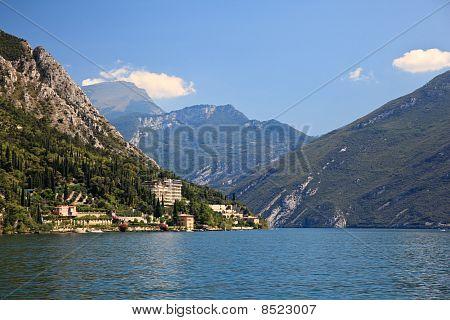 View Up Lake Garda