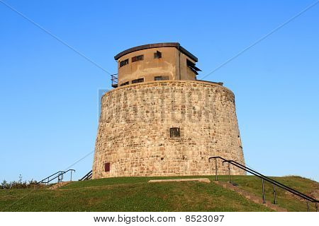 Carlton Martello Tower In Saint John, Nb