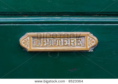 Old Letterbox