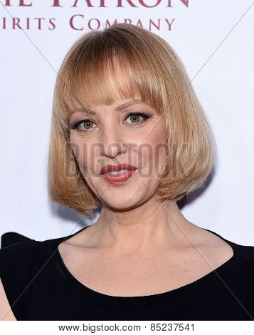 LOS ANGELES - FEB 14:  Wendi McLendon-Covey arrives to the Make-Up Artists & Hair Stylists Guild Awards 2015  on February 14, 2015 in Hollywood, CA