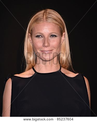 LOS ANGELES - FEB 20:  Gwyneth Paltrow arrives to the Tom Ford Autumn/Winter 2015 Womenswear Collection Presentation  on February 20, 2015 in Hollywood, CA