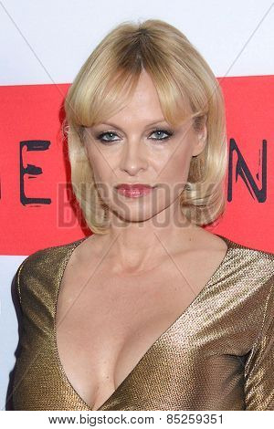 LOS ANGELES - MAR 12:  Pamela Anderson at the