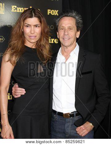 LOS ANGELES - MAR 12:  Veronica Smiley, Brian Grazer at the