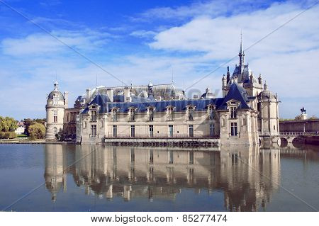 Chateau de Chantilly, Picardie, France