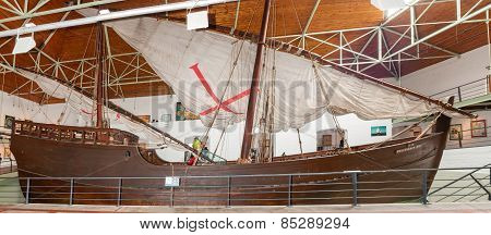 Life Size Dias Caravel Replica Built In Portugal