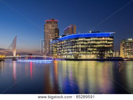 Media City, Salford Quays, Manchester