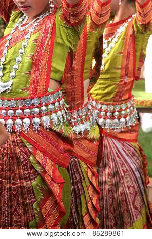 Dancers In Traditional Costume