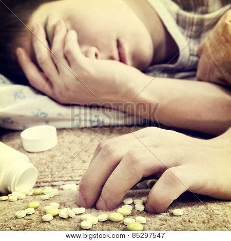 Teenager With The Pills
