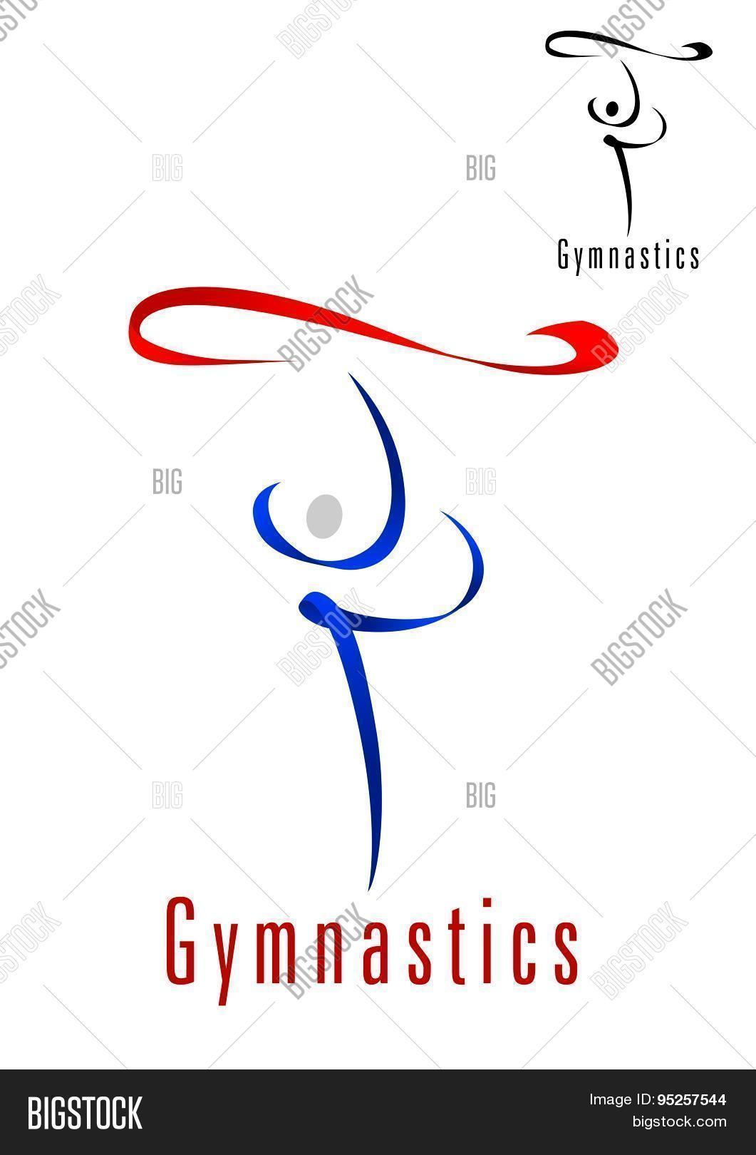 Rhythmic Gymnastics Vector Photo Free Trial Bigstock