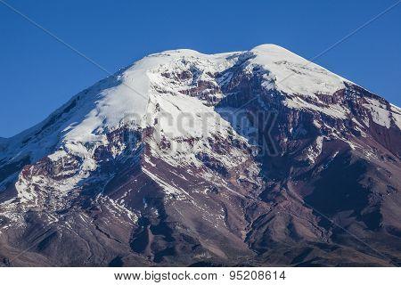 Chimborazo Volcano And Paramo