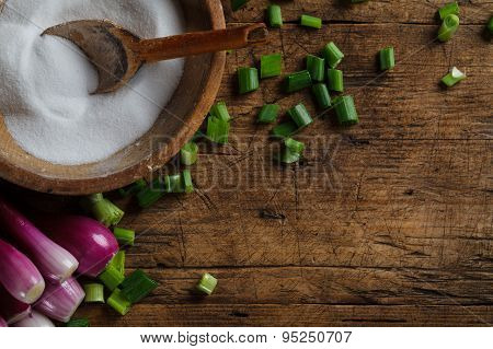 Salt Storage And Onions