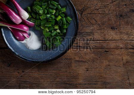 Onions With Salt