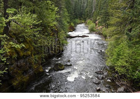 Rogue River In Southwestern Oregon