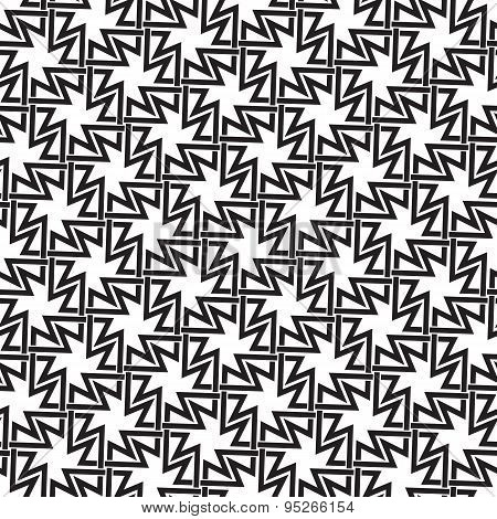 Seamless pattern of intersecting crosses links