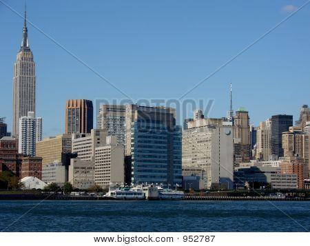 View Of Midtown Manhattan