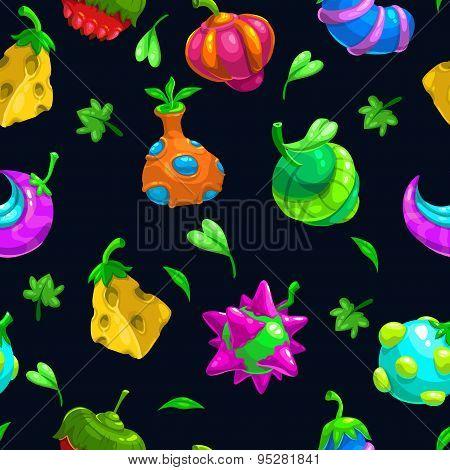 Bizzare Fruits Pattern