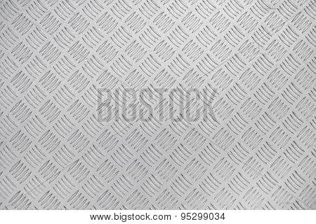 Diamond Steel Metal Plate Background