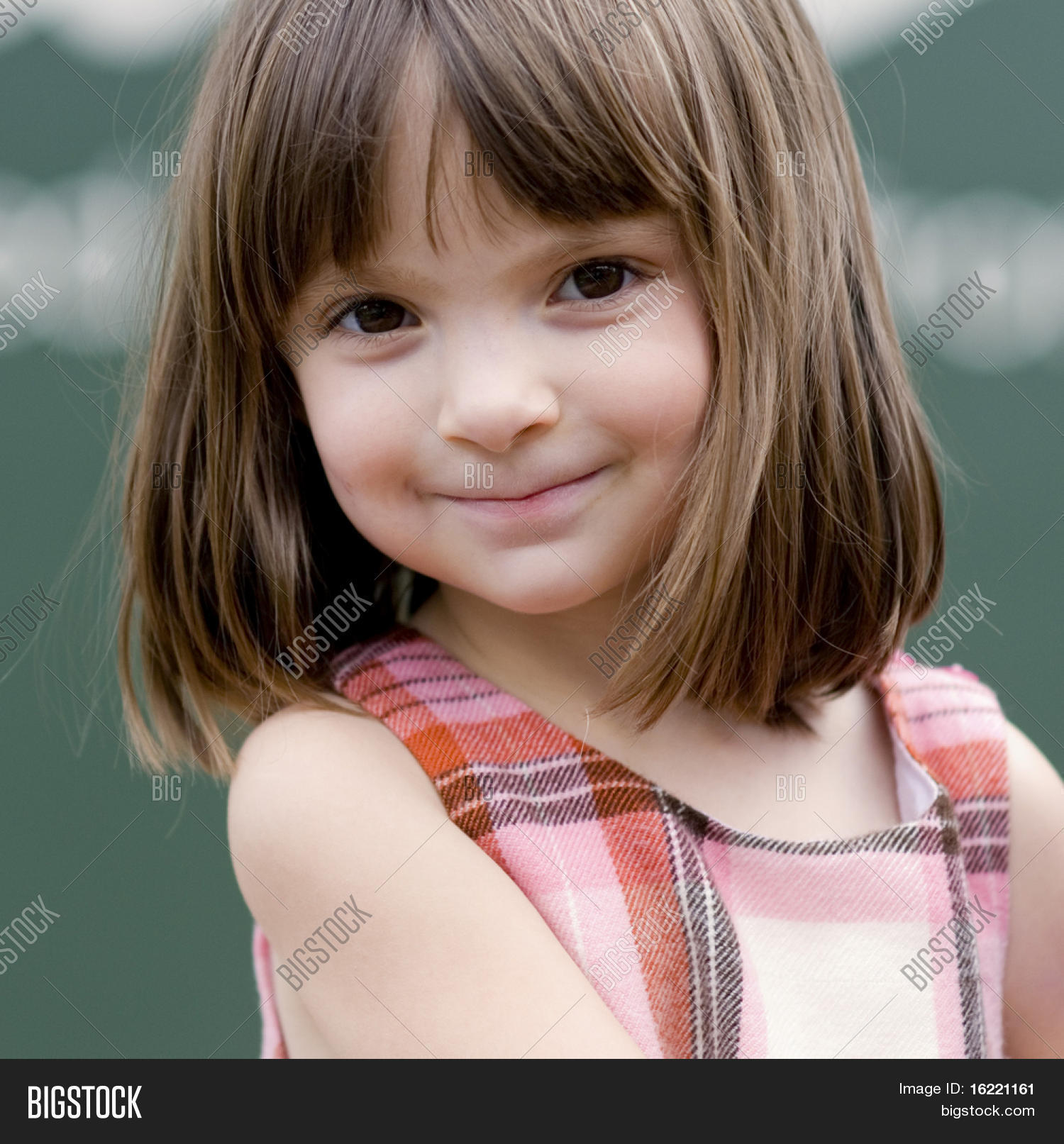 portrait little girl image amp photo free trial bigstock