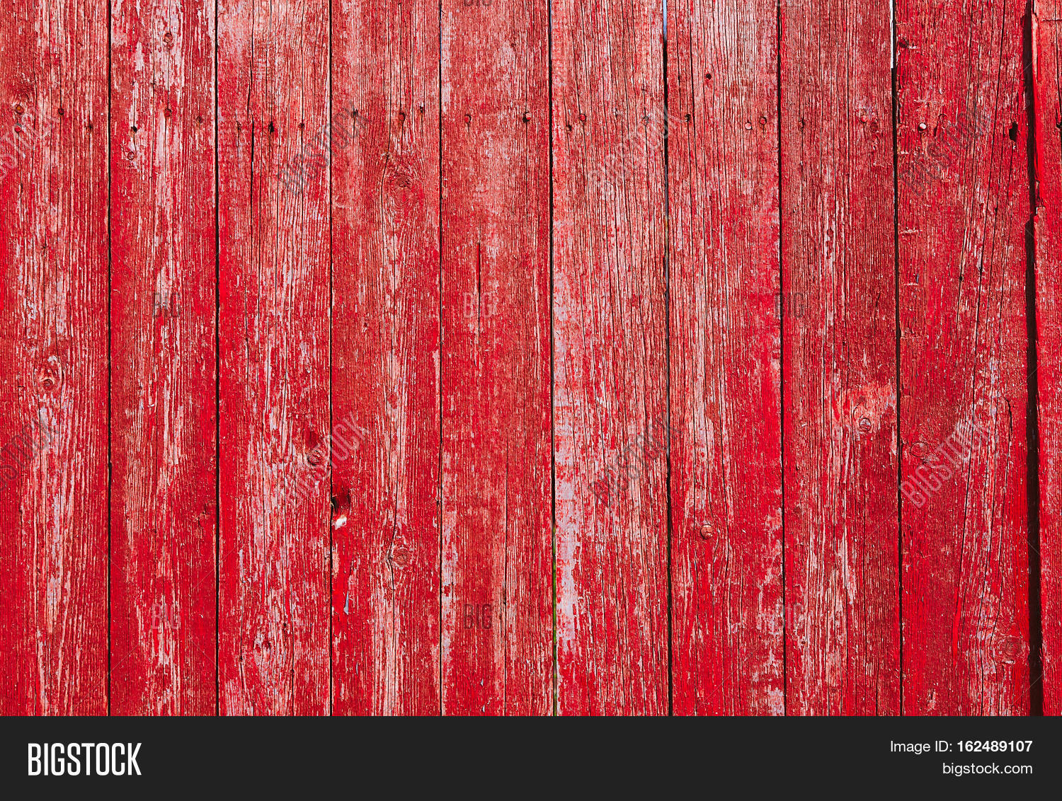 Red Wooden Vintage Style Texture Natural Rustic Old Wood Board Wall Shabby Color Background