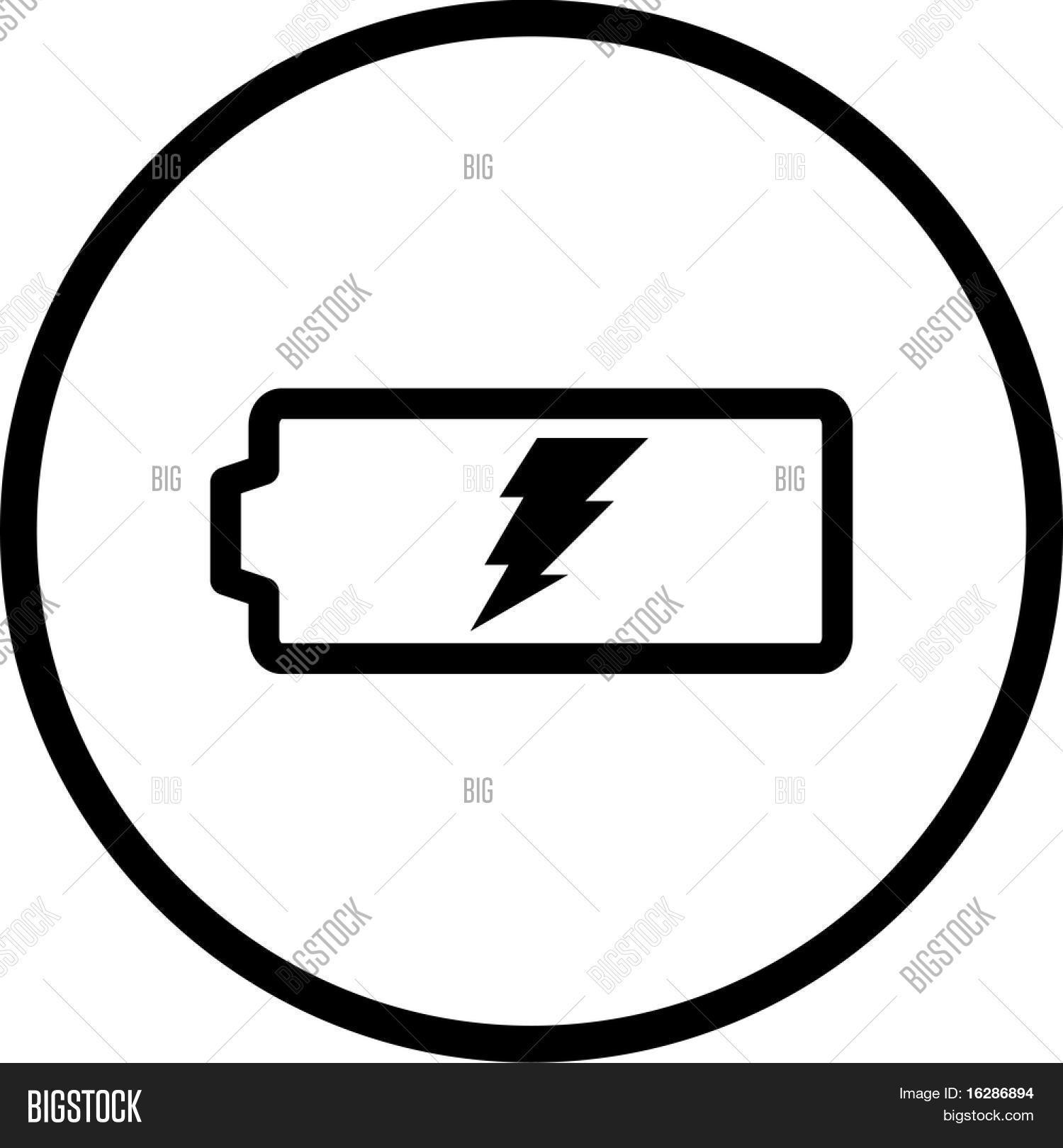 Battery Symbol Image & Photo (Free Trial) | Bigstock