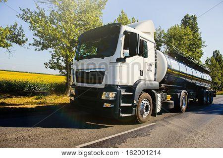 Big  Milk Truck