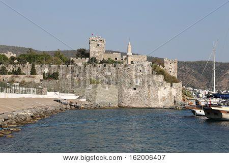 Bodrum Castle In Turkey