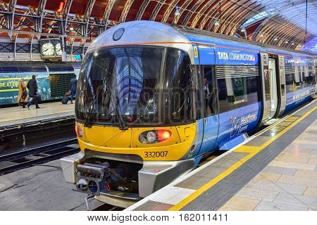 Heathrow Express To Paddington Station